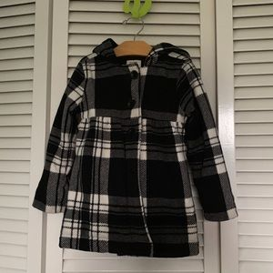 Old Navy fleece girls coat